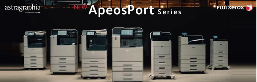 The New ApeosPort Series