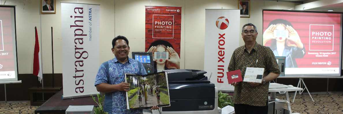 Astragraphia Document Solution Support Creative Industry and Business Photo Lab in Semarang