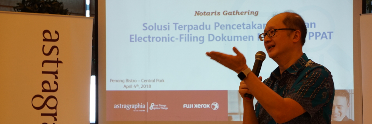 Integrated Printing Solution and E-Filing Documents for Notary and PPAT