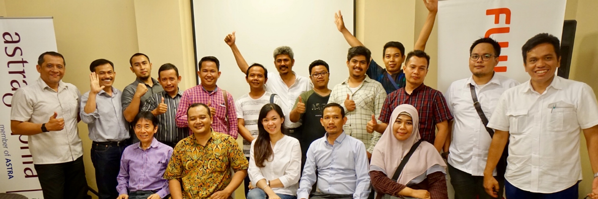 See the Potential of Graphic Art, Astragraphia Holds a Customer Gathering in Karawang