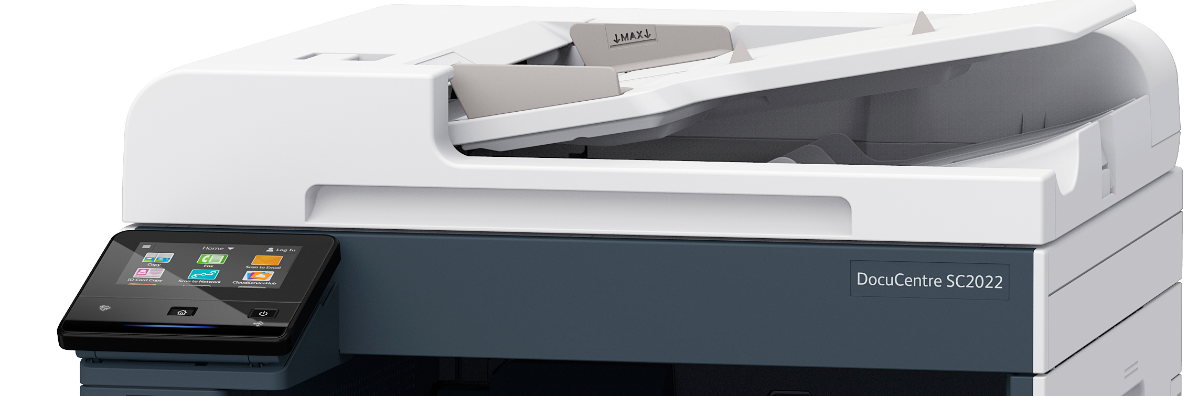 Supports Any Tasks in Small and Medium Enterprises, Astragraphia Document Solution Launch Color Multifunction Machine Fuji Xerox DocuCentre SC2022